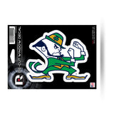 "Notre Dame Fighting Irish 5"" x 5"" Die-Cut Decal Window, Car or Laptop! NEW!"