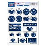 Penn State Nittany Lions Vinyl Sticker Sheet 17 Decals 5x7 Inches