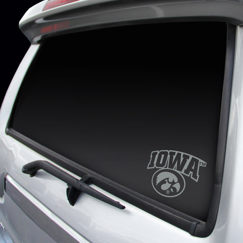 Iowa Hawkeyes Logo Window Graphic Decal NEW!! Chrome FREE SHIPPING!!!