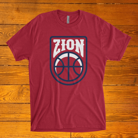 Zion Williamson New Orleans Pelicans Red Shirt Free Shipping!