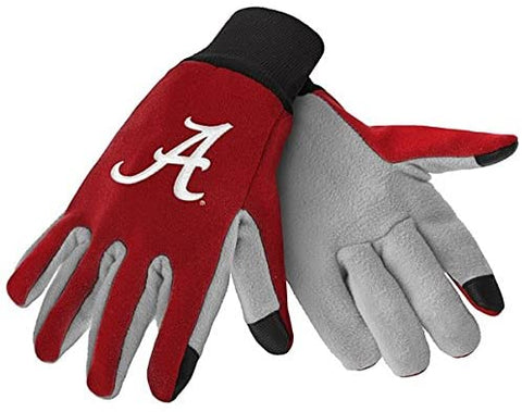 Alabama Crimson Tide Texting Gloves NEW One Size Fits Most FOCO