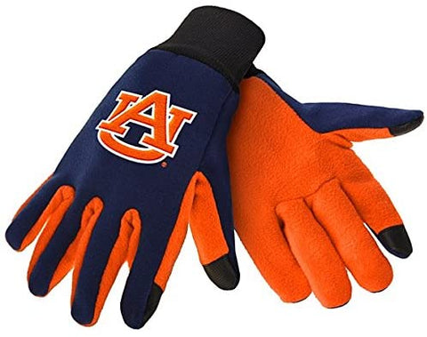 Auburn Tigers Texting Gloves NEW One Size Fits Most FOCO