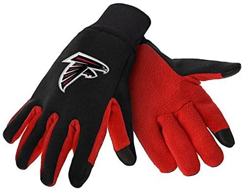 Atlanta Falcons Texting Gloves NEW One Size Fits Most FOCO
