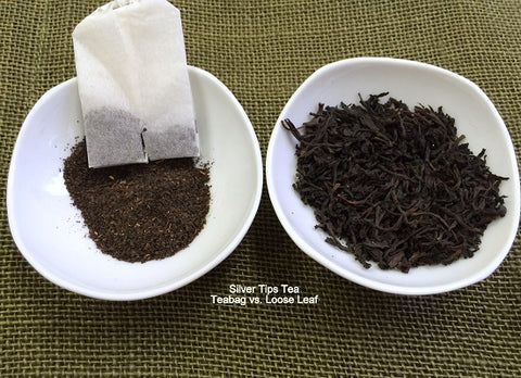 tea bags vs loose leaf