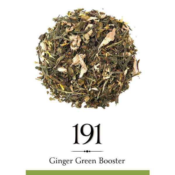 Wellness ginger green booster tea
