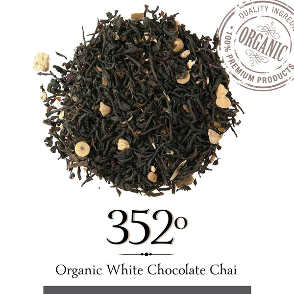 ORGANIC WHITE CHOCOLATE CHAI