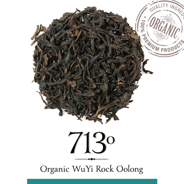 ORGANIC WUYI ROCK OOLONG TEA