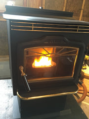 Sold - Harman P38 Wood Pellet Stove - 43K BTUs