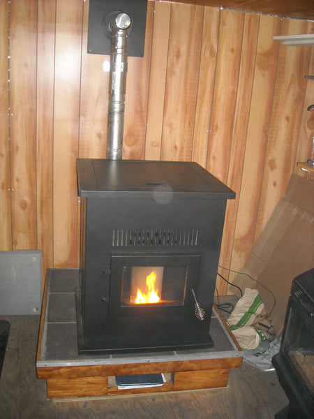 Pelpro Wood Pellet Stove Model Hhpp2bd 50k Btu Home