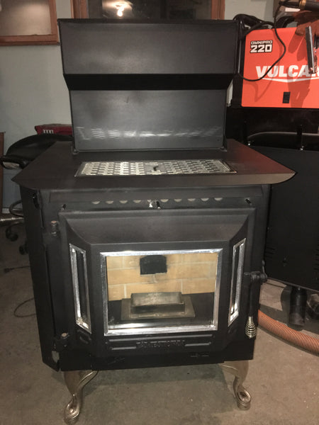 Jamestown J2000 Wood Pellet Stove 45K BTUs for up to 2,200 SqFt