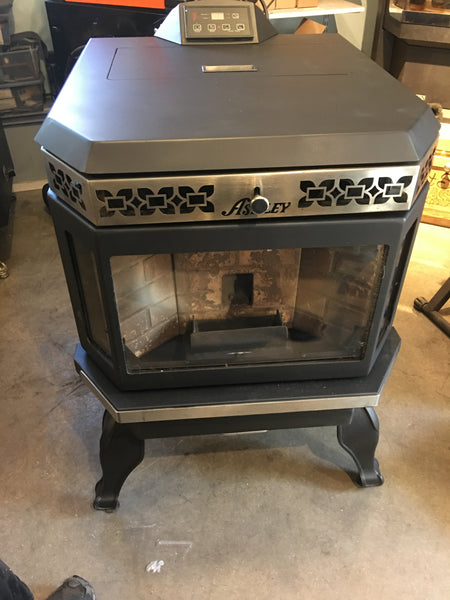 US Stove Ashley AP5660L Wood Pellet Stove 50k BTUs for up to 2,200 SqFt
