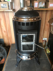Sold - Thelin - Parlour 3000 Pellet Stove 40k BTUs for up to 2000 SqFt with 43lb Hopper