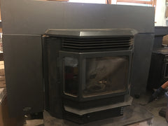"Sold - Quadrafire CB1200 Insert Wood Pellet Stove 47,300 BTU - ""The Classic Bay"""
