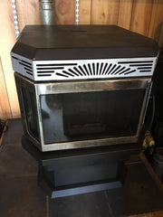 Sold - Savanah Tasman 40 Wood Pellet Stove 50k BTUs for up to 2,200 SqFt
