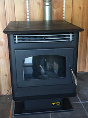 Breckwell P22 - Maverick Pellet Stove 40k BTUs for up to 1500 SqFt