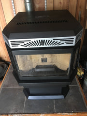 Hudson River Saranac Wood Pellet Stove 50k BTUs for up to 2,200 SqFt