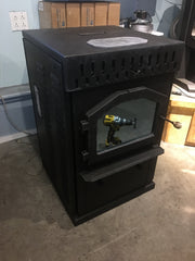 Sold - Magnum Baby Countryside  - Corn or Wood Pellet Stove 32K BTUs for up to 1500 SqFt