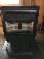 Sold - Travis Lopi Pioneer Bay wood pellet stove 30K BTUs