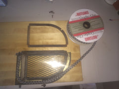 Wood Stove Door Gasket and Glass Repair