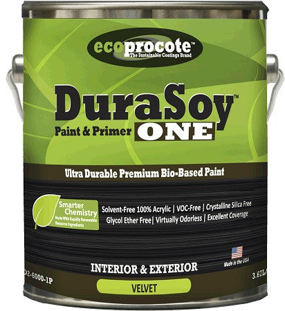 DuraSoy Interior/Exterior Paint & Primer Velvet Sheen Gallon