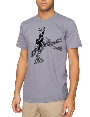 Cowboy riding an ATAT tshirt