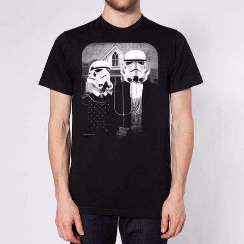 Star Wars American Gothic T-Shirt