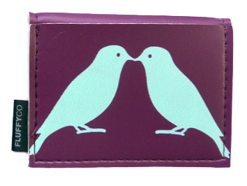 Birds Mini Vinyl Wallet