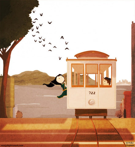 Cable Car Print