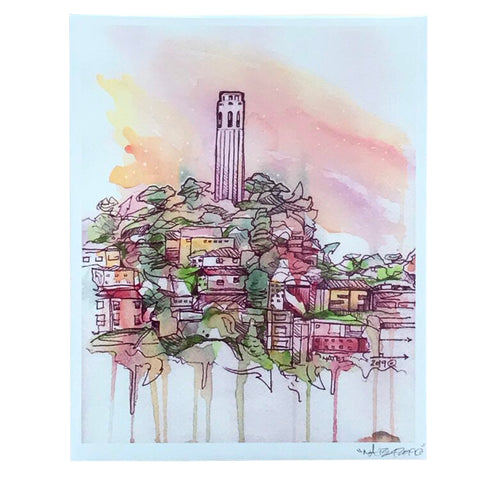 Coit Tower Print