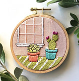 DIY Cozy Cacti Embroidery Kit