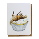 Cupcake Horse Greeting Card