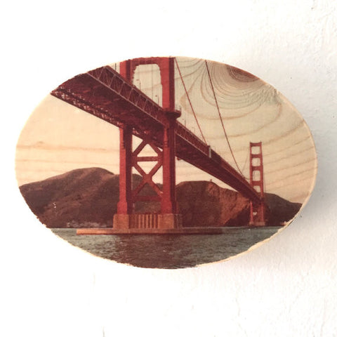 Dad's Golden Gate Bridge Photo Transfer