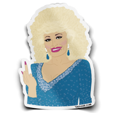 Parton my French Sticker