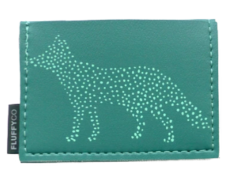 Dot Fox Mini Vinyl Wallet