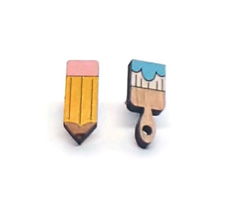 Pencil and Brush Studs