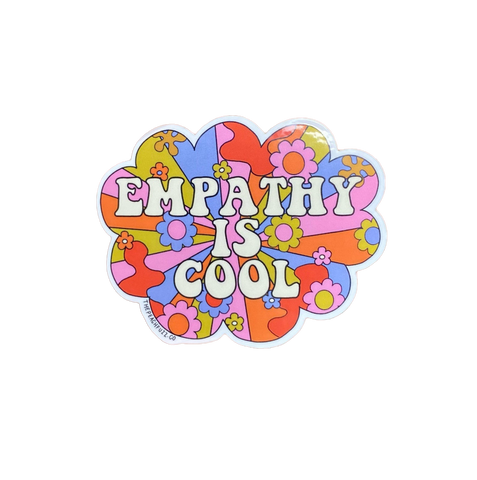 Empathy is Cool Sticker
