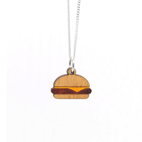 Cheeseburger Necklace