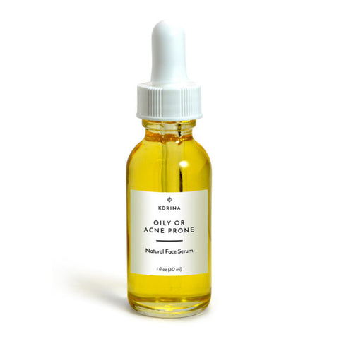 Natural Face Serum - Oily or Acne-prone Skin