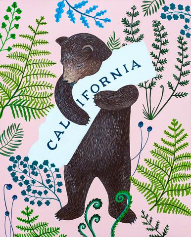 I Love You California Fern Print