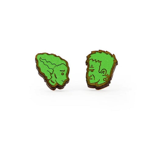 Frankenstein and Bride studs