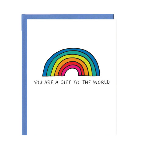 Gift to the World Greeting Card