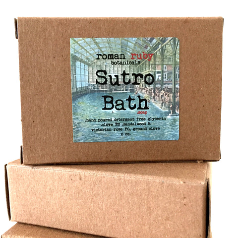 Sutro Baths Soap