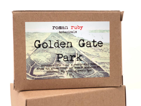 Golden Gate Park Soap