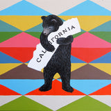 """I Love You California"" Blanket Print"
