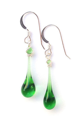 Glass Sundrop Earrings