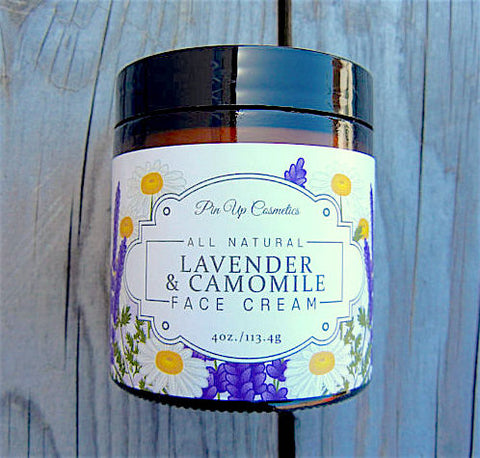 Lavender Camomile Face Cream 4oz