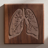Routed Wood Lungs