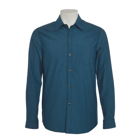 Men's Merino Wool Button Down shirt