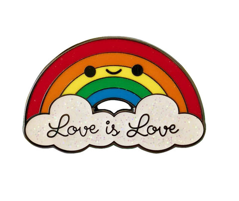 Love is Love Rainbow Pin