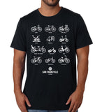 Bike Districts SF Men's Tshirt